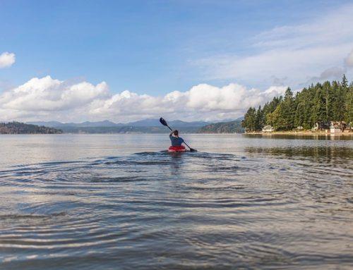 Canoas aguas tranquilas